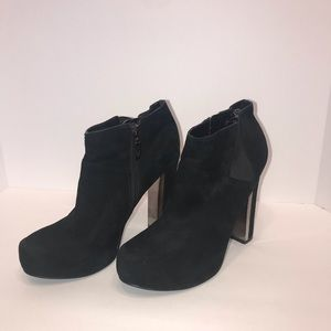 GUESS Coreline Suede Ankle Boots